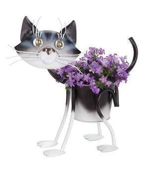Mini Painted Kitty Planter. Georgetown Home And Garden ...