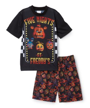 low cost 9a9c8 7dc13 Five Nights at Freddy s Animatronic Brunch Pajama Set - Boys