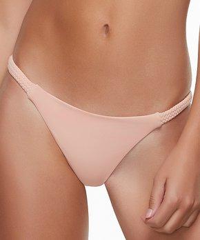 c3a689d2dce5d all gone. Dippin' Daisy's Swimwear | Blush Flat-Braided Cheeky Bikini  Bottoms. all gone
