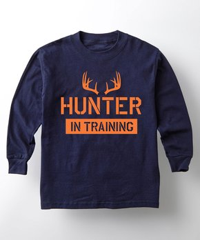 Toddler Raglan Hunter in Training Girl