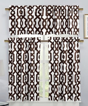 Duck River Textile | Silver Faux Silk Bali Curtain Panel - Set of Two