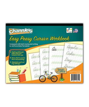 Channie's | Easy Peasy Cursive Workbook