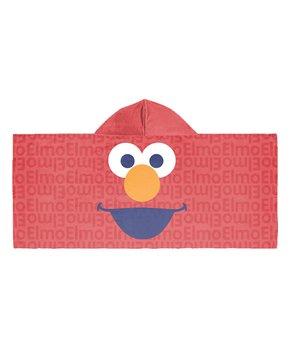 4fb6b5826e Sesame Street Elmo Hooded Towel
