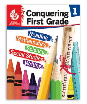 Shell Education | Conquering First Grade Workbook