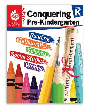 Shell Education | Conquering Pre-Kindergarten Workbook
