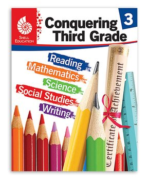 Shell Education | Conquering Third Grade Workbook