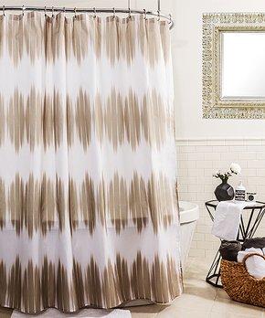 Splash Home | Sand Kano Shower Curtain