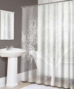 Splash Home | Pearl Tree Shower Curtain