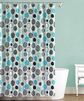 Splash Home | Silver Iota Shower Curtain