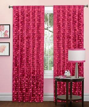 Lush Décor | Maze Border Room-Darkening Curtain Panel - Set of Two