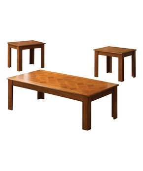 Furniture of America | Light Oak Jenikka Display Case