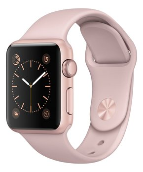 Apple | Refurbished Rose Gold & Pink Sport Band 38-MM Series 1 Watch