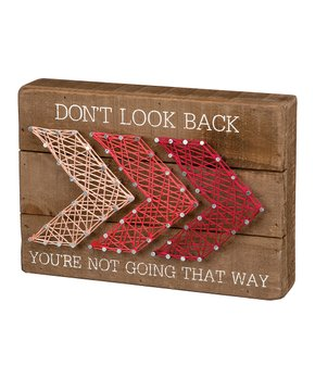 Primitives by Kathy | 'Your Own Kind Of Beautiful' String Art Block Sign