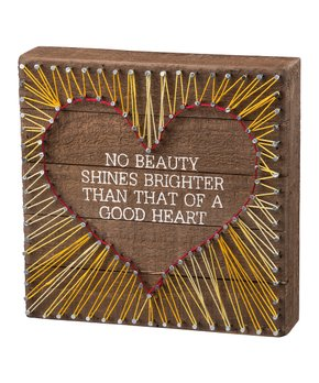 Primitives by Kathy | 'All is Bright' String Art Wall Décor
