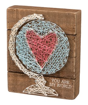 Primitives by Kathy | Prone to Wander String Art Box Sign