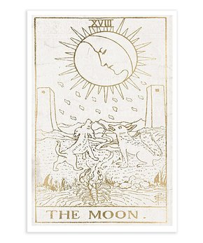 Oliver Gal | The Moon Tarot Luxe Print