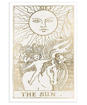 Oliver Gal | The Sun Tarot Luxe Print