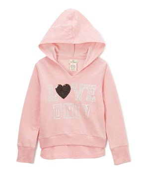 3278aea8a61a Candy Pink  Love  Hoodie - Toddler   Girls