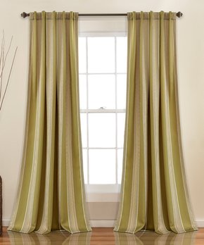 Duck River Textile | Taupe Rhys Blackout Curtain Panel - Set of Two