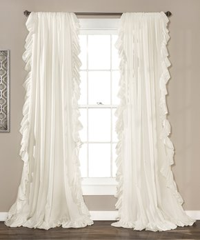 Lush Décor | Gray Penelope Blackout Curtain Panel - Set of Two