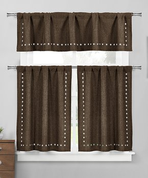 Duck River Textile | Sesame Rebecca Blackout Curtain Panel - Set of Two