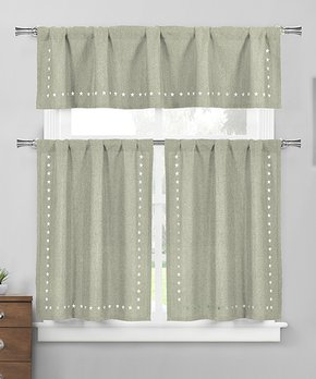 Duck River Textile | Gray & Taupe Stripe Thia Curtain Panel - Set of Two