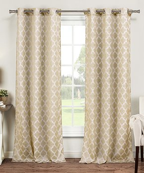 Duck River Textile | Gray Rhys Blackout Curtain Panel - Set of Two