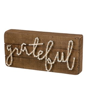 Primitives by Kathy | 'Grateful' String Art