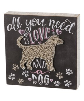 Primitives by Kathy | 'Good Heart' String Art Box Sign