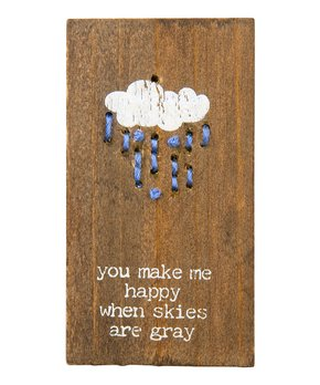 Primitives by Kathy | 'My Sunshine' Stitched Wall Art