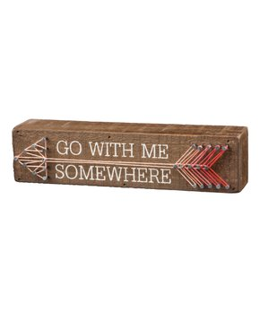Primitives by Kathy | 'Go Your Own Way' Wood & String Wall Sign