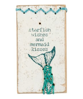 Primitives by Kathy | 'Be Fearless' Stitched Block Sign
