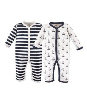 Hudson Baby   Sailboat Union Playsuit Set – Infant