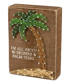 Primitives by Kathy | 'I'm All About' String Art Block