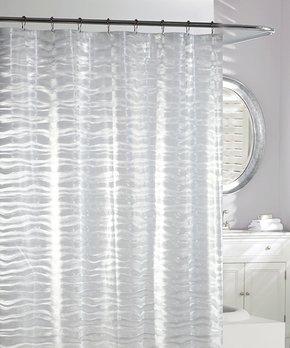 Daniel's Bath & Beyond | Green Pom-Pom Shower Curtain