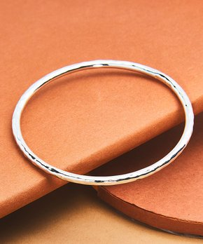 Urban Sterling Silver | Sterling Silver Texture Bangle