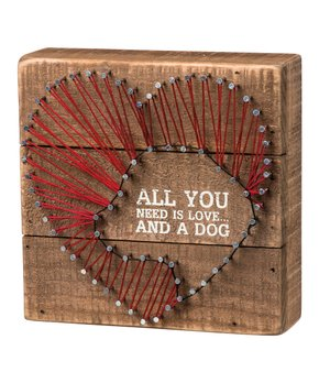 Primitives by Kathy | 'My Kids Have Paws' String Paw Sign