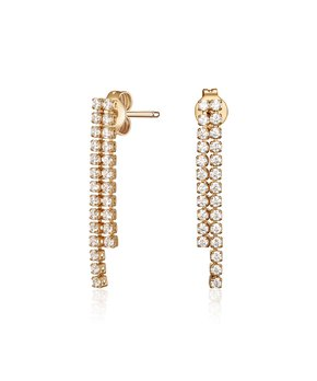 aaa74b4d6 MESTIGE | Rose Goldtone Autumn Stud Earrings With Swarovski® Crystals. all  gone