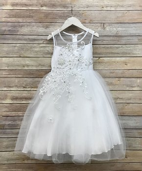 White Dresses On Sale for Toddlers