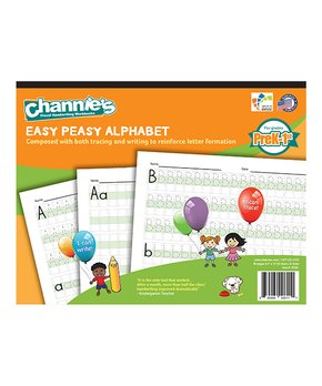Channie's | Grades Pre-K to 1 Easy Peasy Alphabet Pad