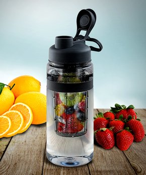 Flash E-Sales | Black Fruit-Infuser 32-Oz. Water Bottle