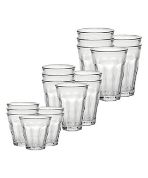 Duralex | Picardie Tempered Glass 18-Piece Tumbler Set