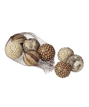 Sullivans Décor | Earth-Tone Orb Set