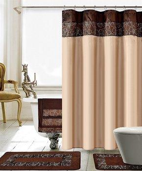 Splash Home | White Hydro Microfiber Shower Curtain Liner