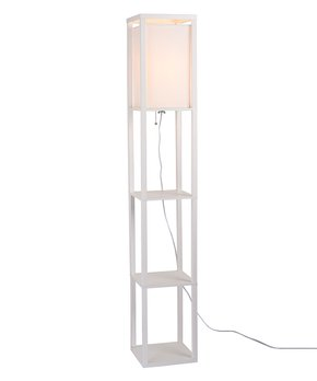 Catalina Lighting   White Catalina Finley Étagère Floor Lamp