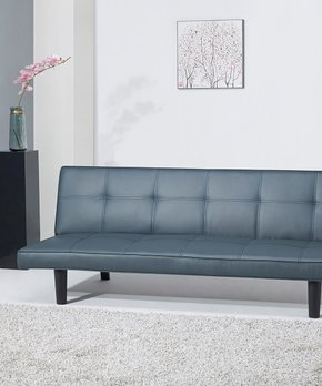 Gold Sparrow   Smoke Hudson Convertible Sofa Bed