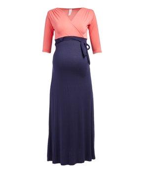 62af2971a0d ... Maternity Flutter-Sleeve Maxi Dress · all gone