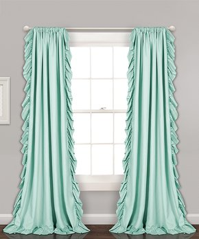 Duck River Textile | Soft Blue Brylee Blackout Curtain Panel - Set of Two