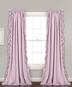 Duck River Textile | White & Taupe Jade Fruit Embroidered Three-Piece Curtain Set