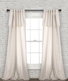 Duck River Textile | Chocolate Daenerys Blackout Curtain Panel - Set of Two